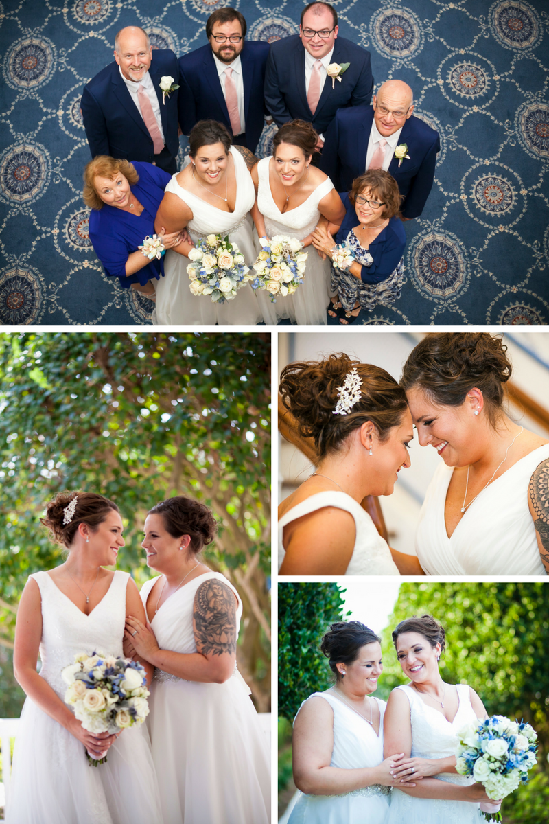 Wedding of the week- Emma and Christie