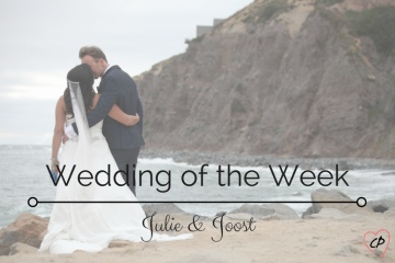 Wedding Of The Week: Julie and Joost