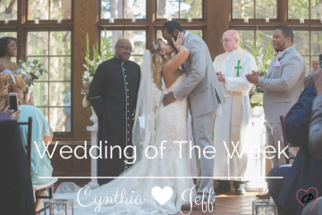 Wedding Of The Week: Cynthia and Jeff