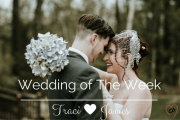 Wedding Of The Week: Traci and James