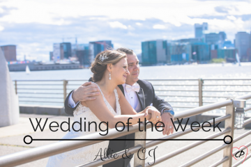 Wedding of the Week: Allie & CJ