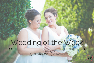 Wedding Of The Week: Emma and Christie