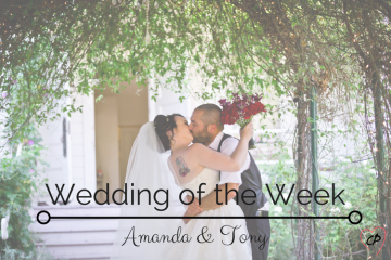 Wedding of the Week: Amanda & Tony