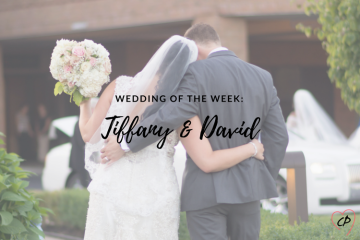 Wedding of the Week: Tiffany & David