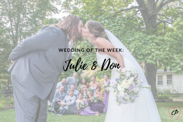 Wedding of the Week: Julie & Don