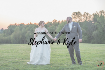 Wedding of the Week: Stephanie & Kyle