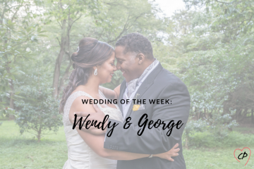Wedding of the Week: Wendy & George