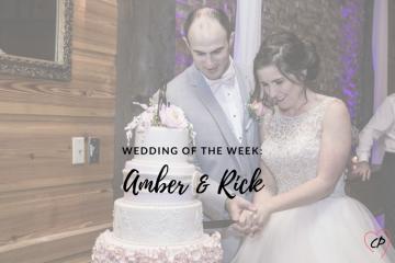 Wedding of the Week: Amber & Rick