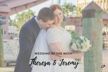 Wedding of the Week: Theresa & Jeremy