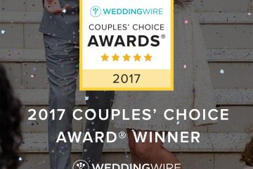 2017 WeddingWire Couples' Choice Award Recipient