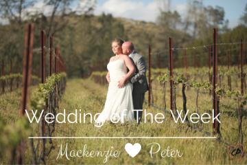 Wedding Of The Week: Mackenzie and Peter