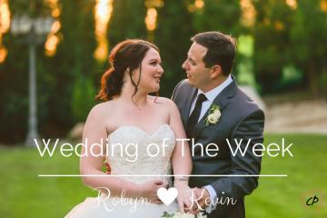 Wedding of The Week: Robyn & Kevin