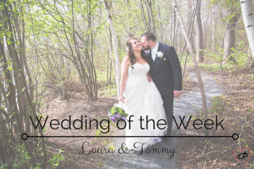 Wedding of the Week: Laura and Tommy