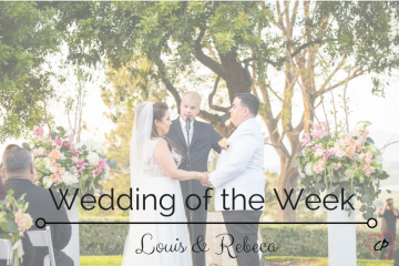Wedding Of The Week: Louis and Rebeca