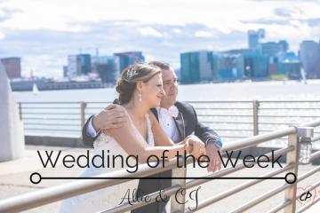 Wedding of the Week: Allie & CJ