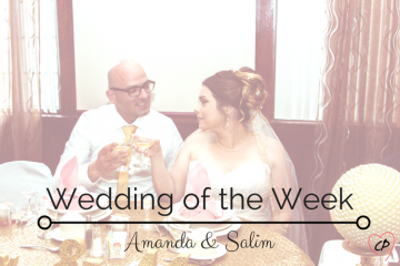 Wedding of the Week: Amanda & Salim