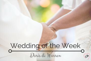 Wedding of the Week: Doris & Warren