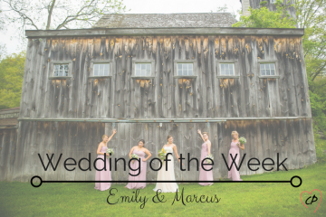 Wedding of the Week: Emily & Marcus