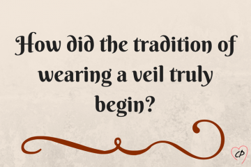 Tuesday Tips: Wearing a Veil