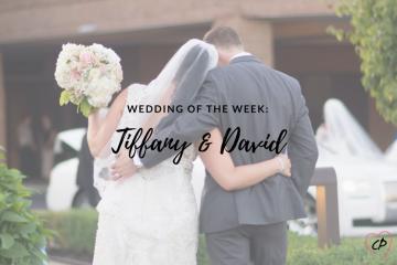 Wedding of the Week: Tiffany & David