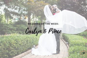 Wedding of the Week: Carlyn & Prince