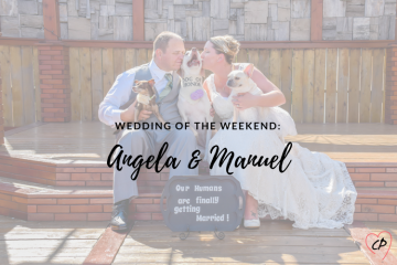 Wedding of the Weekend: Angela & Manuel