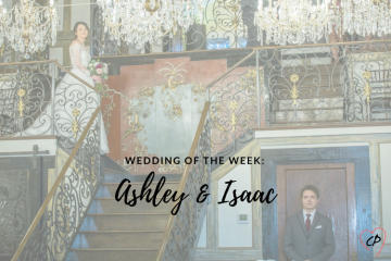 Wedding of the Week: Ashley & Isaac