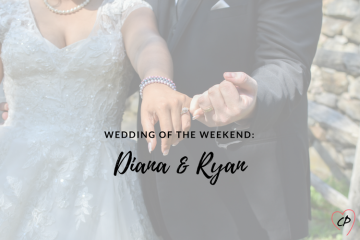 Wedding of the Weekend: Diana & Ryan