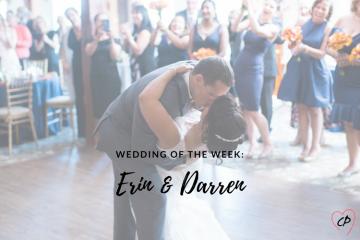 Wedding of the Week: Erin & Darren