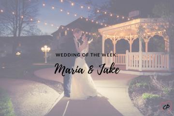 Wedding of the Week: Maria & Jake