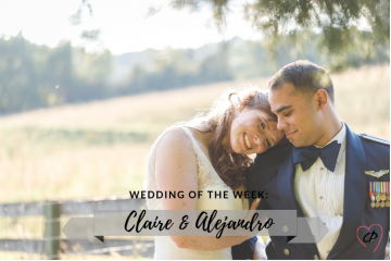 Wedding of the Week: Claire & Alejandro