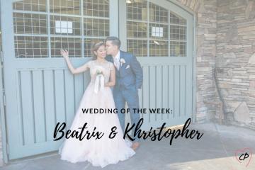 Wedding of the Week: Beatrix & Khristopher