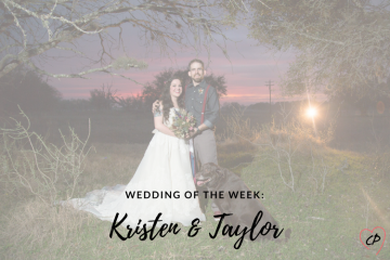 Wedding of the Week: Kristen & Taylor