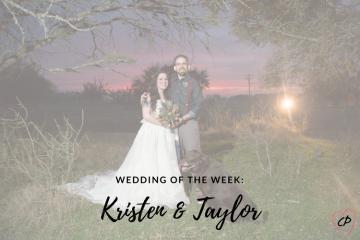 Wedding of the Week: Kristen & Taylor