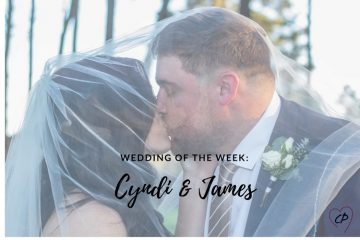 Wedding of the Week: Cyndi & James