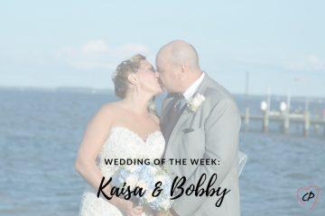 Wedding of the Week: Kaisa & Bobby