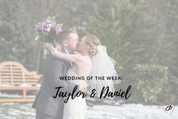 Wedding of the Week: Taylor & Daniel