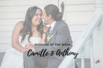 Wedding of the Week: Camille & Anthony