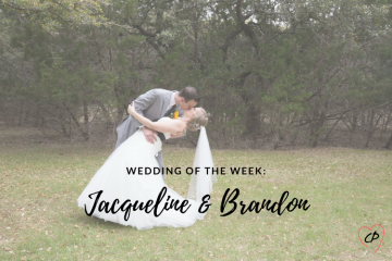 Wedding of the Week: Jacqueline & Brandon