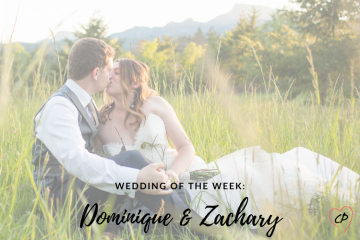 Wedding of the Week: Dominique & Zachary