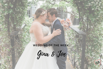 Wedding of the Week: Gina & Joe