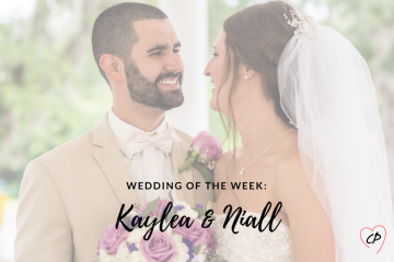 Wedding of the Week: Kaylea & Niall