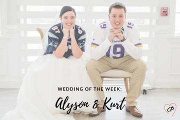 Wedding of the Week: Alyson & Kurt