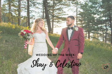 Wedding of the Week: Shay & Celestino