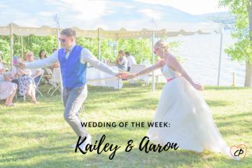 Wedding of the Week: Kailey & Aaron