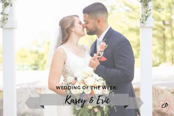 Wedding of the Week: Kasey & Eric