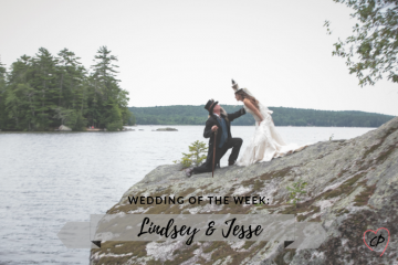 Wedding of the Week: Lindsey & Jesse