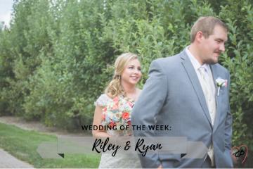 Wedding of the Week: Riley & Ryan