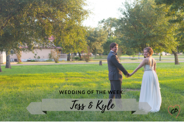 Wedding of the Week: Tess & Kyle