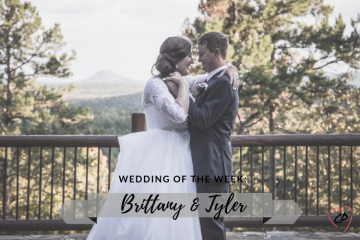 Wedding of the Week: Brittany & Tyler